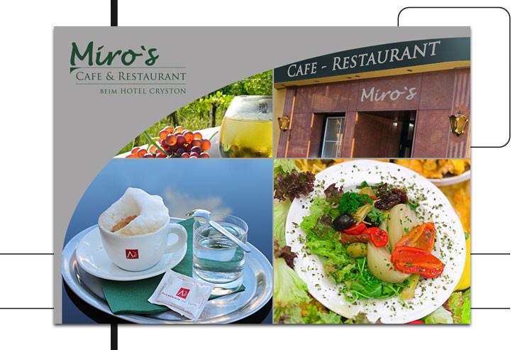 Postkarte – Miro's